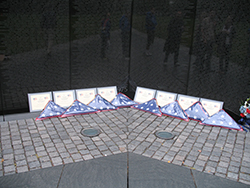 Company Flags at The Wall 2006